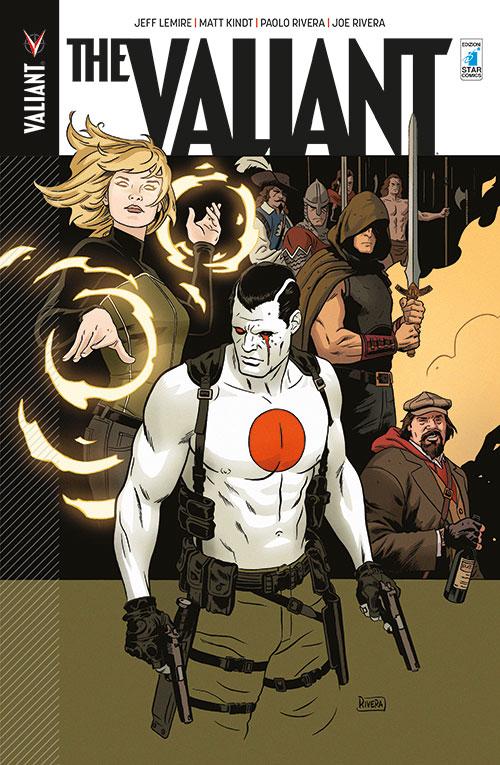 The Valiant, copertina di Paolo Rivera