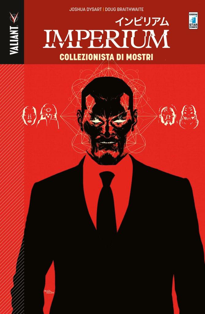 Imperium vol. 1: Collezionista di Mostri, copertina di Raùl Allén