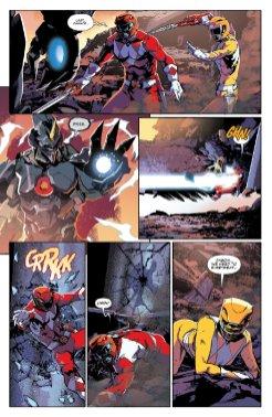 Mighty Morphin Power Rangers #6, anteprima 04