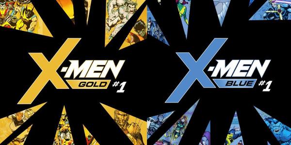 X-Men Blue Gold