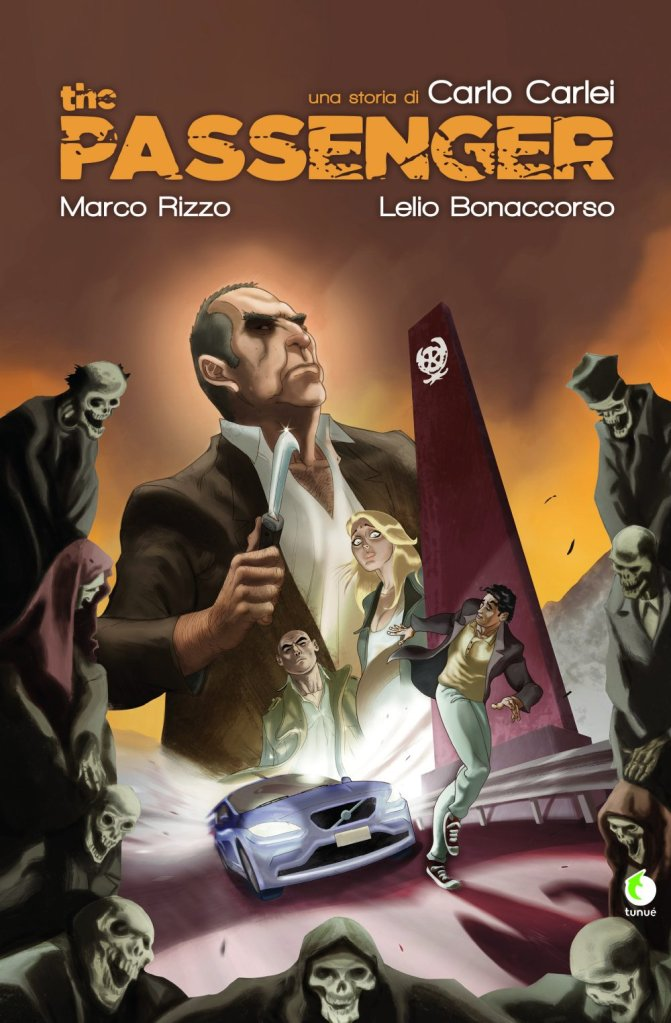 The Passenger, copertina di Lelio Banaccorso