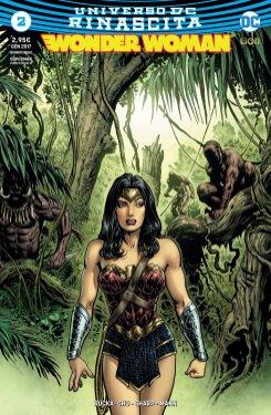 Wonder Woman 2, copertina variant di Liam Sharp