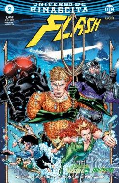 Flash 2, copertina variant di Brad Walker