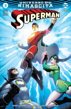 Superman 2, copertina variant di Viktor Bogdanovic