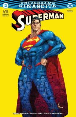 Superman 2, copertina variant di Kenneth Rocafort