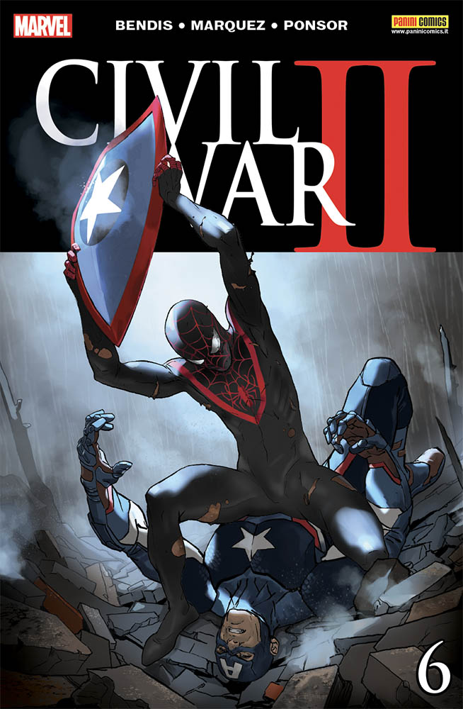 Civil War II 6, copertina di Marko Djurdjevic