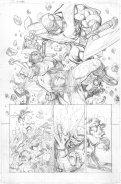 X-Men: Gold #1, anteprima 01 (matite)