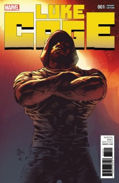 Luke Cage #1, variant cover di Mike Deodato Jr.