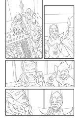 Avengers #8, anteprima 01 (matite)