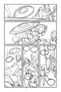 Avengers #8, anteprima 02 (schizzi)