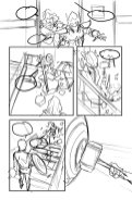 Avengers #8, anteprima 03 (schizzi)