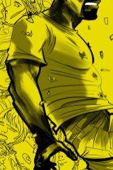 Luke Cage, locandina di Stefano Simeone (bozza 02)