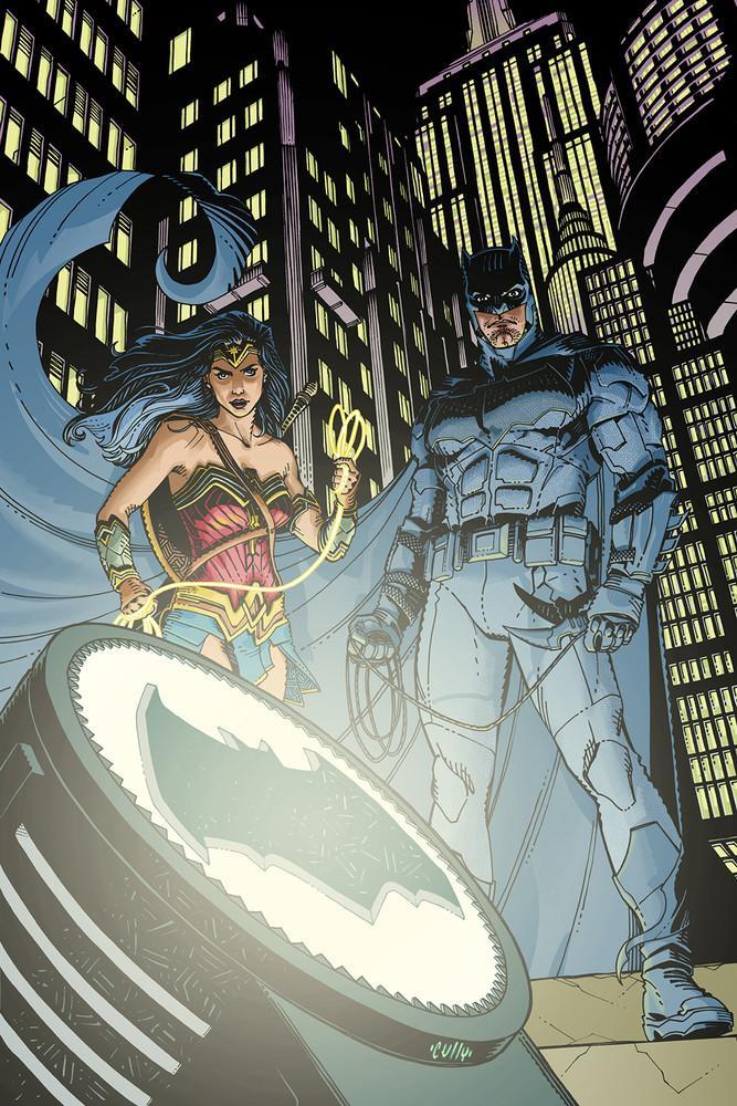 Batman 22, copertina di Cully Hamner