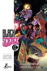 Black Science vol. 6: Regni proibiti e verità nascoste, copertina di Matteo Scalera