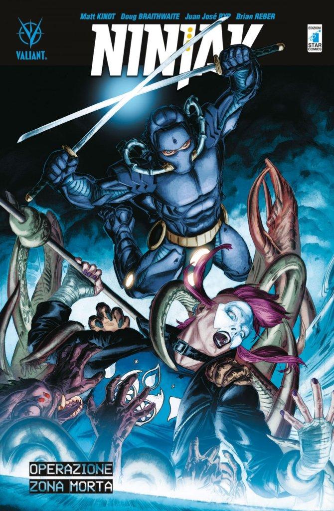 Ninjak vol. 3: Operazione Zona Morta, copertina di Doug Braithwaite