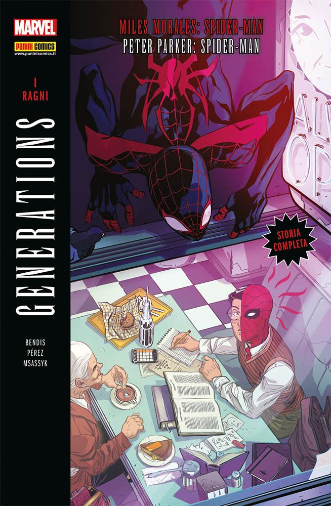 Generations: I Ragni - Miles Morales: Spider-Man/Peter Parker: Spider-Man