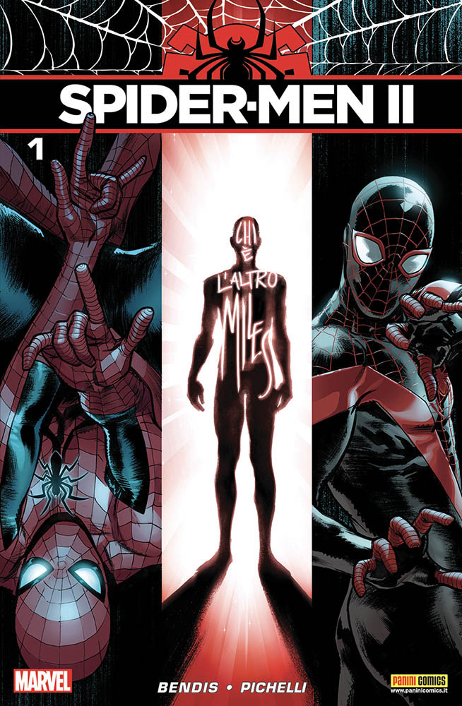 Spider-Men II 1, copertina di Sara Pichelli