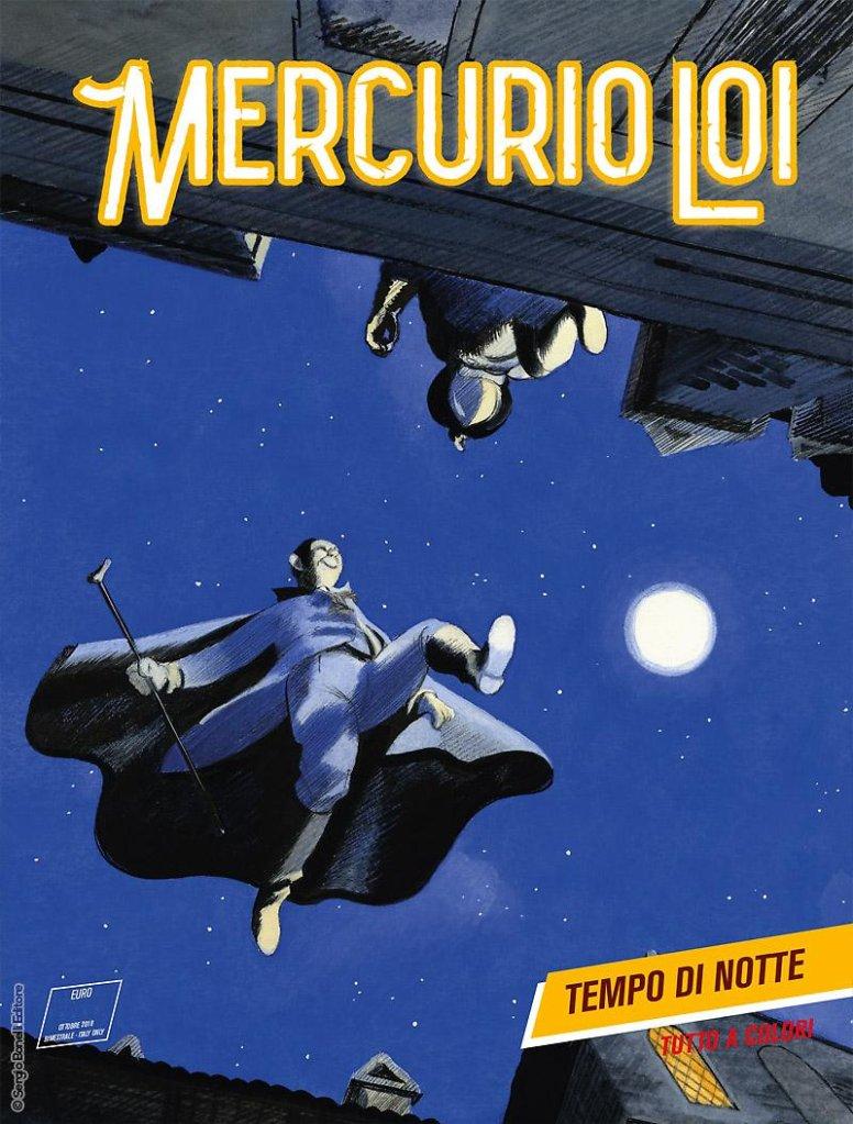 Mercurio Loi 13: Tempo di notte, copertina di Manuele Fior