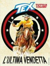 Tex 695: L'ultima vendetta, copertina di Claudio Villa