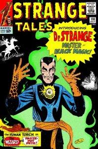 Strange Tales #110, copertina di Steve Ditko