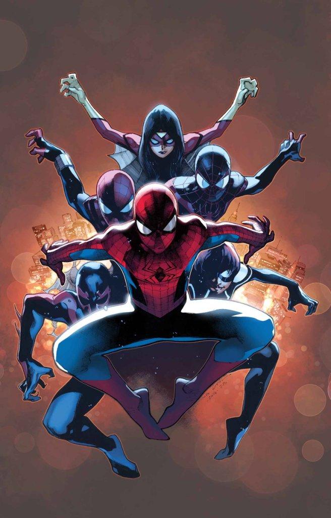 Amazing Spider-Man #9, copertina di Olivier Coipel