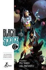 Black Science vol. 8: Più tardi del previsto, copertina di Matteo Scalera
