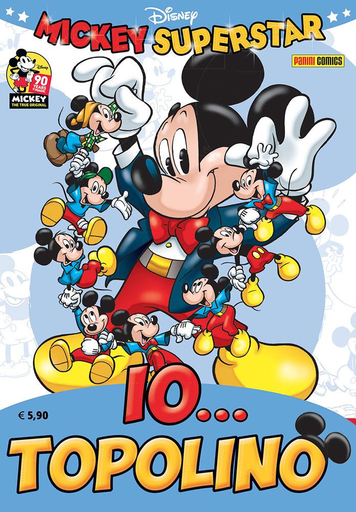 Mickey Superstar: Io... Topolino, copertina di Giorgio Cavazzano