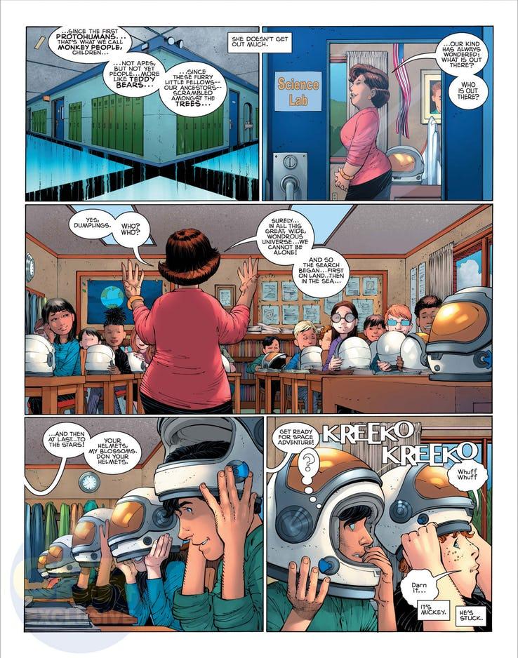 Superman: Year One #1, anteprima 06