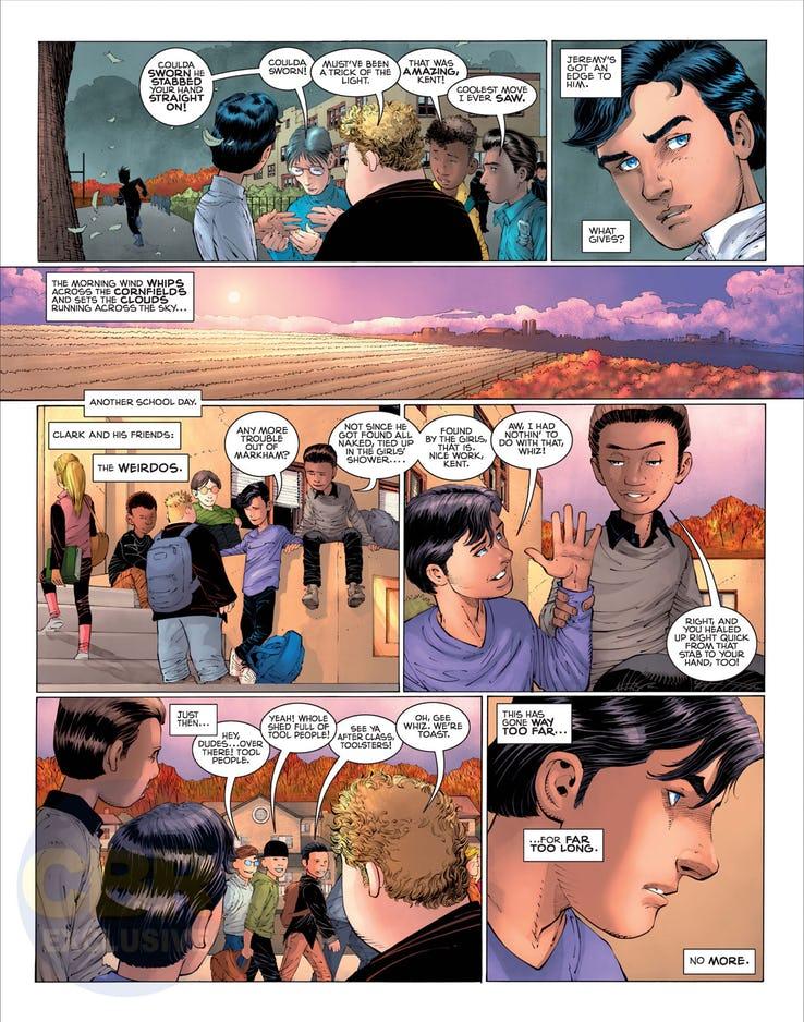 Superman: Year One #1, anteprima 10