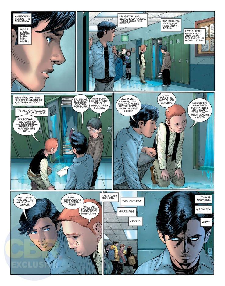 Superman: Year One #1, anteprima 11