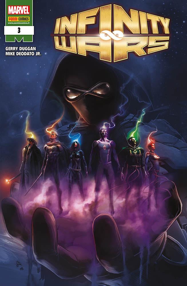 Infinity Wars 3, copertina di Mike Deodato Jr.