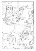Diabolik Sottosopra: L'uomo che non sapeva ridere, anteprima 03 (matite)