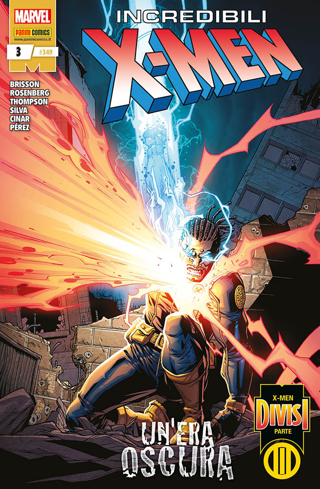 Gli Incredibili X-Men 349, copertina di Giuseppe Camuncoli