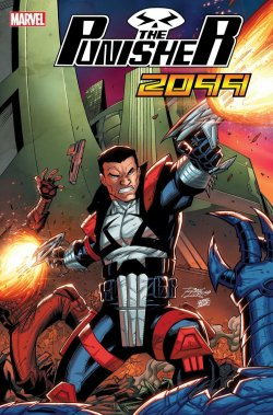 Punisher 2099 #1, variant cover di Ron Lim