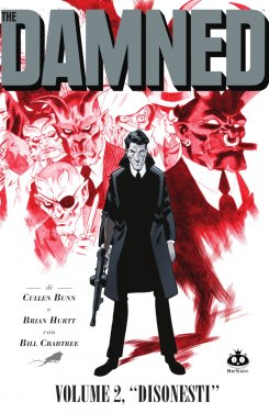 damned_02Damned vol. 2, copertina di Brian Hurtt_cover_colori_ita