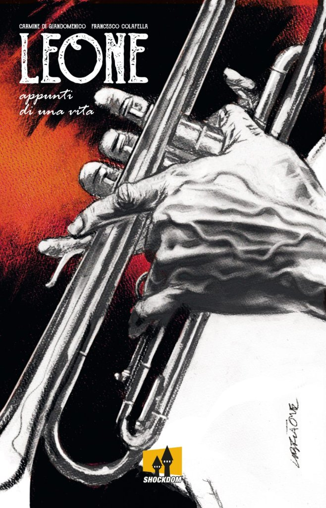 Leone - Appunti di una vita, copertina di Tanino Liberatore