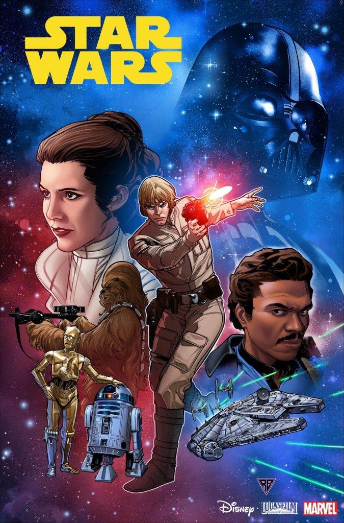 Star Wars #1, copertina di R.B. Silva