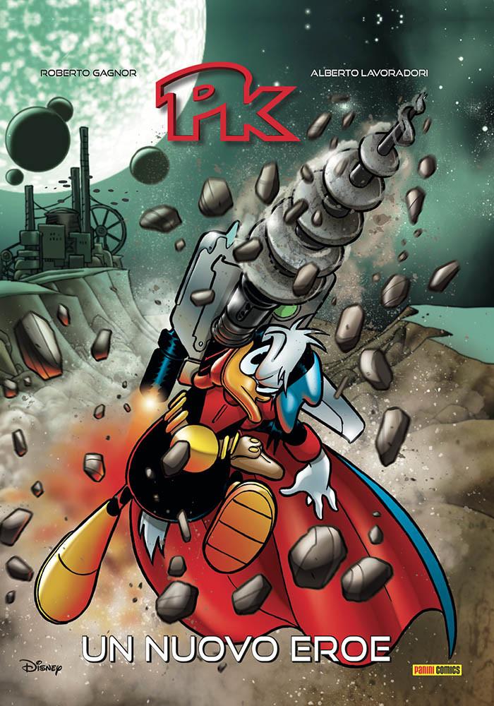 Pk: Un nuovo eroe, copertina di Andrea Freccero