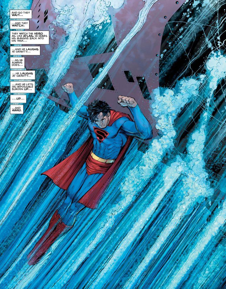 Superman: Year One #3, anteprima 01