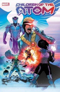 Children of the Atom #1, copertina di R.B. Silva