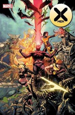 X-Men #8, copertina di Leinil Francis Yu