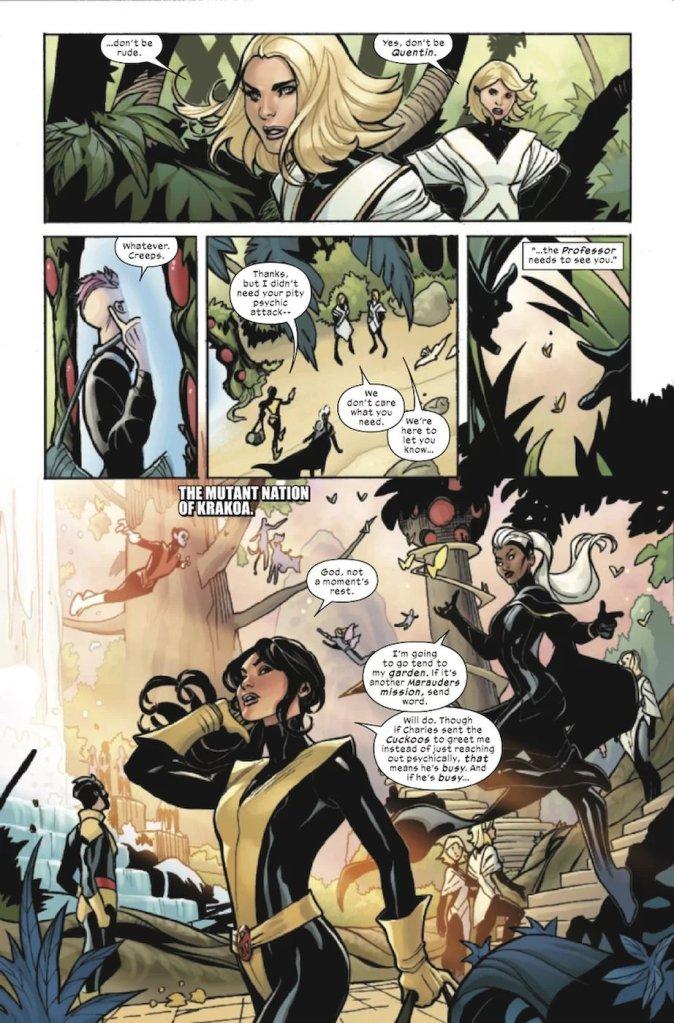 X-Men/Fantastic Four #1, anteprima 02