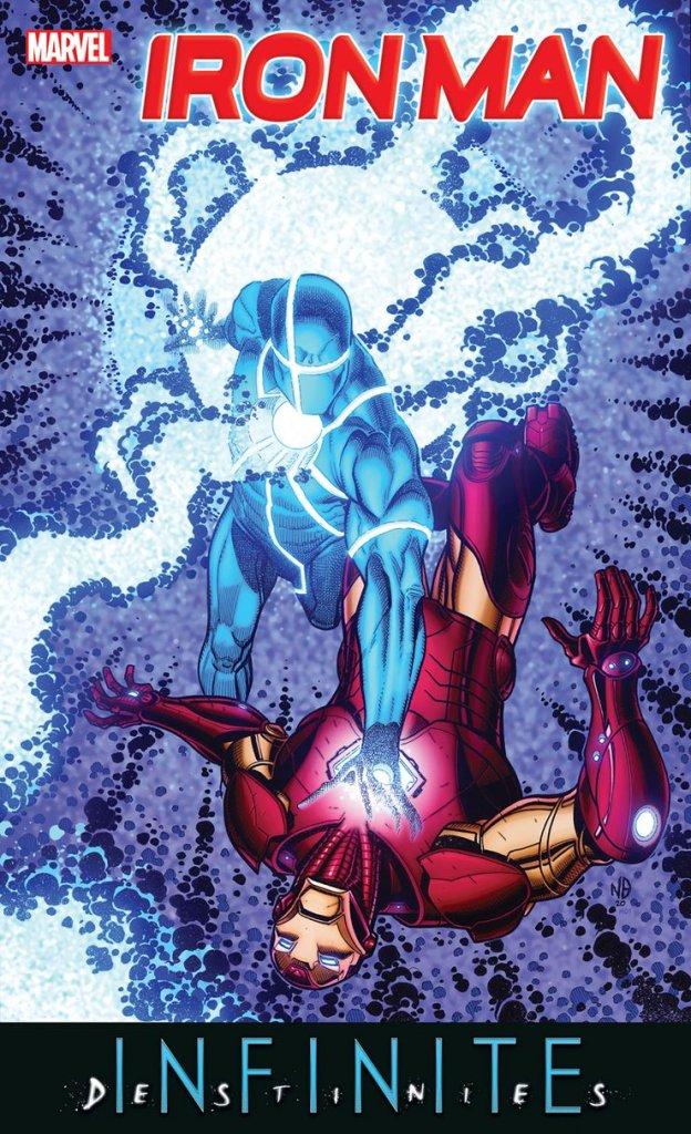 Iron Man Annual #1, copertina di Nick Bradshaw
