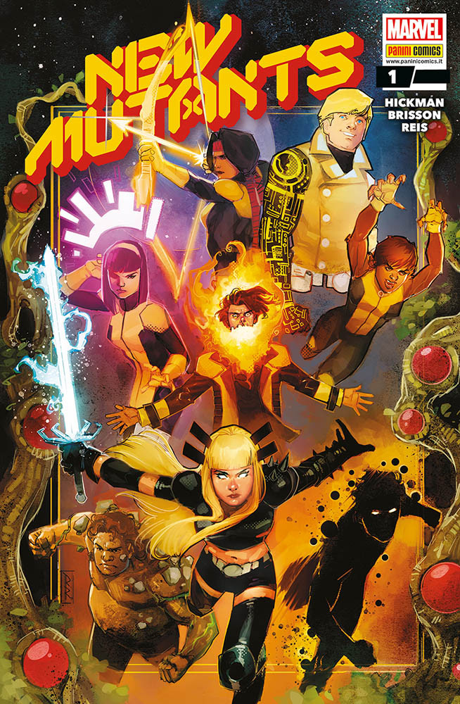 New Mutants 1, copertina di Rod Reis