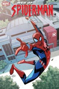 W.E.B. of Spider-Man #1, copertina di Gurihiru