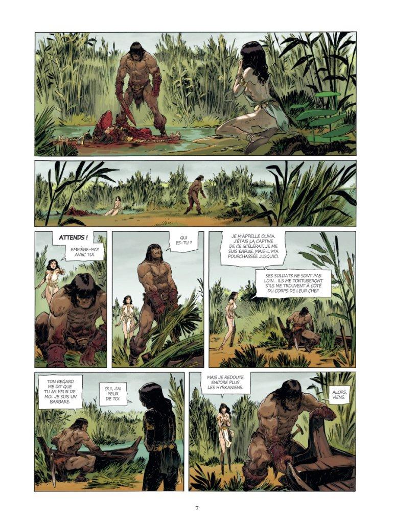 Conan le Cimmérien # 6: Chimères de fer dans la clarté lunaire, anteprima 05