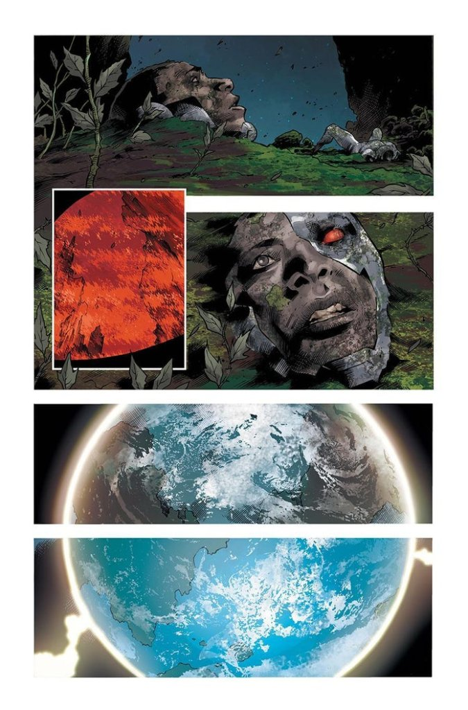 DCeased: Dead Planet #1, anteprima 05