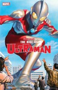 Rise of Ultraman #1, copertina di Alex Ross