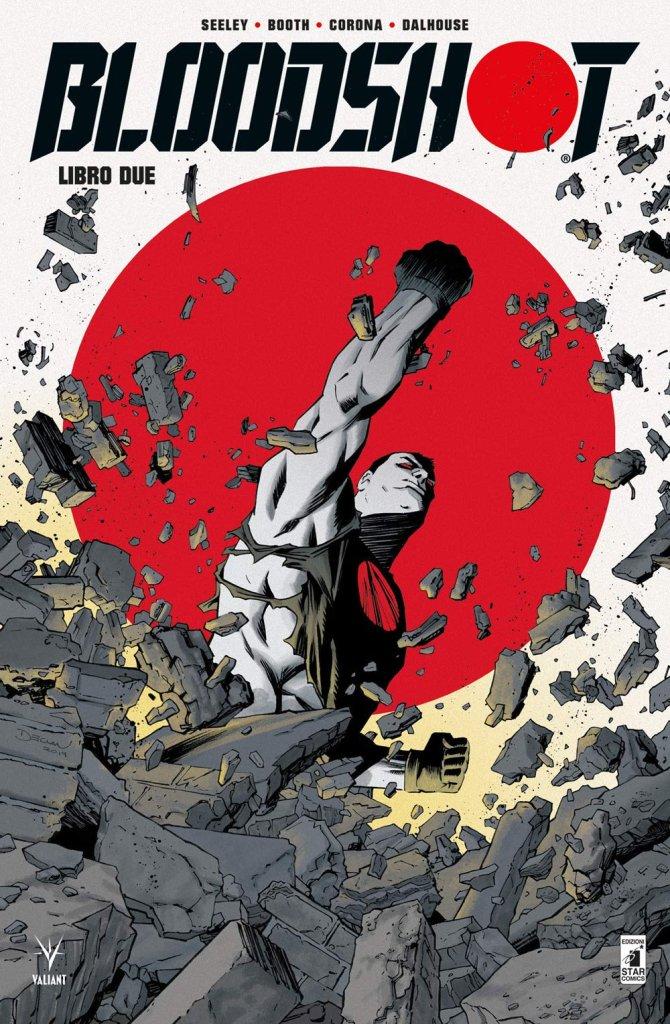 Bloodshot - Libro due, copertina di Declan Shalvey