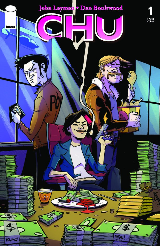 Chu #1, variant cover di Dan Boultwood
